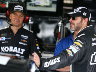 Johnson, No. 48 team focused on 'minimizing mistakes' with one race left in regular season