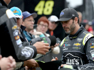 Teammates ready to tackle Brickyard 400 with no practice time