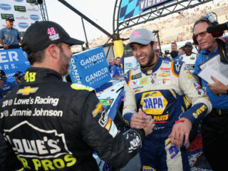 Elliott, Johnson currently among top 10 Most Popular Driver vote-getters