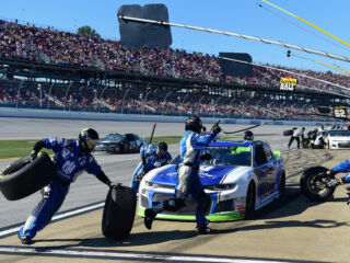 No restrictor plate means new engine assembly for Talladega