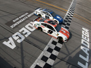Teamwork led to one-two finish at Talladega