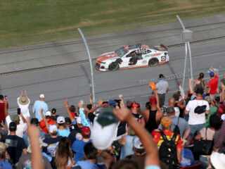 Talladega fans provided 'one of the coolest moments' of Elliott's career