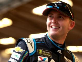 Byron, Johnson take home top-three finishes in weather-shortened Daytona race
