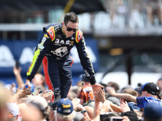Bowman recalls 'the win that got away' as home track race awaits
