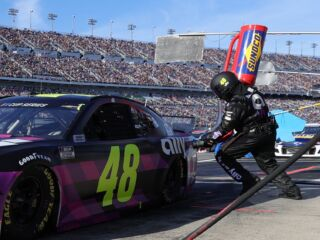 No. 48 fueler Brandon Harder ready to work at hometown track