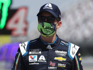 Byron, Bowman on front row for Wednesday's race at Charlotte Motor Speedway