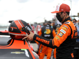Byron, Elliott leading teammates off the grid at Darlington