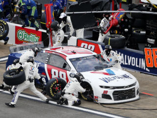 Race Rundown: Bowman takes top-10 finish in wild Talladega race