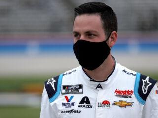 Bowman jokes Cup Series should race jet dryers at misty Texas