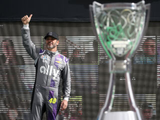 End of an era: Johnson relishes final Cup Series race