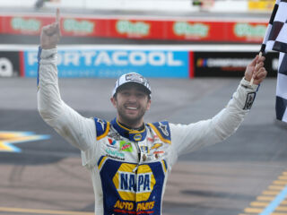Reactions pour in after Elliott earns first career title