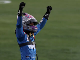 Larson thrilled for for first Hendrick Motorsports win, hungry for more