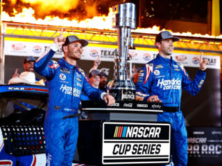 Larson, Daniels keeping pedal to the metal after all-star win