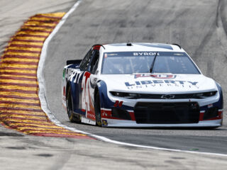 Byron, Larson sweep front row at Road America