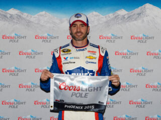 Johnson earns 34th-career pole at Phoenix