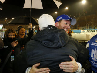 Race Recap: Earnhardt earns win in rain-shortened Phoenix race