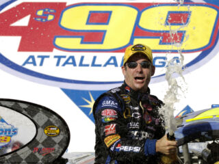 On this day in history: Gordon, Johnson win at Talladega one year apart