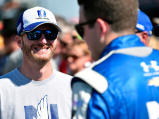 Bowman: Without Earnhardt, 'I wouldn't be here'