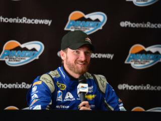 Earnhardt found 'really good speed' during Phoenix test