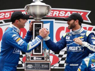 Johnson, Knaus win Bristol with an open-minded approach