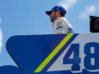Johnson optimistic on verge of 600 miles at Charlotte