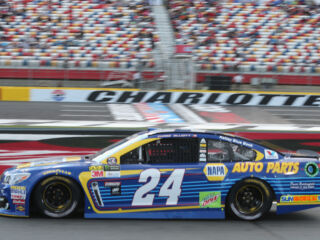 Elliott leads teammates on Charlotte 600 pole night