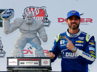 Mystique carries on at the 'Monster Mile' for Hendrick Motorsports