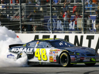 On this day in history: Johnson, Schrader celebrate wins at Atlanta Motor Speedway
