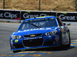 Johnson wins Stage 2 at Sonoma