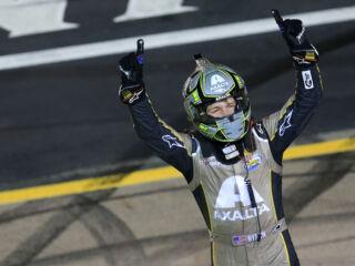 Hendrick Motorsports teammates congratulate Byron on first XFINITY win