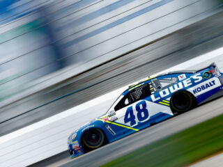 Johnson finishes New Hampshire Stage 2 in top five