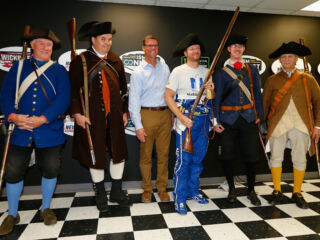 New Hampshire Motor Speedway gifts Earnhardt New England style