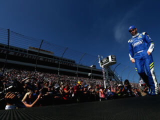 Shots of the Race: Johnson at New Hampshire