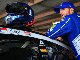 Earnhardt leads teammates in Dover qualifying
