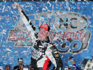 Saturday night at Charlotte, Bowman captures first career XFINITY win