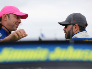 Two teammates inside top 10 after Stage 1 at Talladega