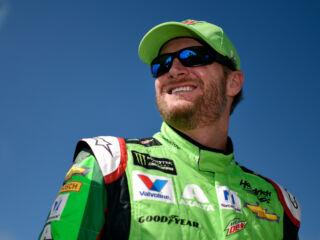 Shots of the Race: Earnhardt at Talladega
