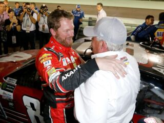 Rick Hendrick to Dale Earnhardt Jr. on Hall of Fame announcement: 'I'm proud of you'
