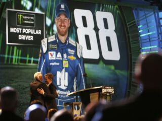 Earnhardt named most popular driver for 15th consecutive year