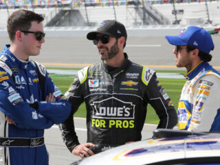Hendrick Motorsports lineup set to make history in Sunday's Daytona 500