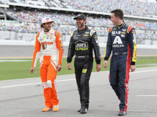 Three teammates in playoff position with two races to go