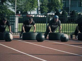 Pit crews get intense with heat training