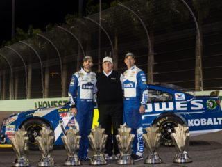 Hendrick History: Johnson, Knaus capture seventh championship at Homestead