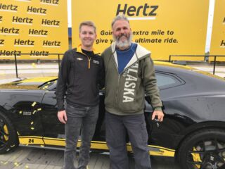 Hertz, Hendrick Motorsports gifts Byron-inspired Camaro SS to lucky fan