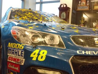 See Johnson's #se7en championship Chevy in person