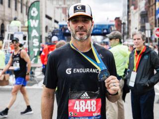 Johnson recounts 'amazing' experience of Boston Marathon
