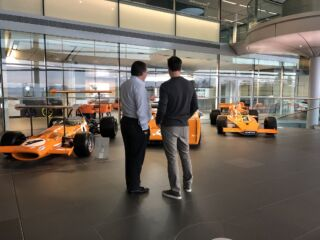 Johnson kicks off #JJxALO with visit to McLaren Technology Centre