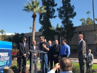 Burnouts and proclamations accompany Arizona's 'Jimmie Johnson Day'