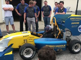 Elliott visits Embry-Riddle Aeronautical University