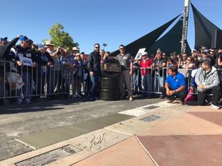 Johnson inducted into 'Walk of Fame' at Fontana